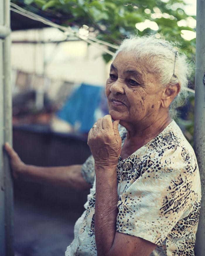 Marisina, resident of Alemão