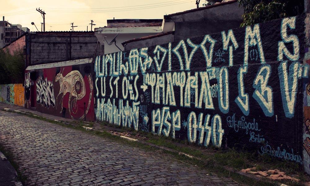 Hieroglyohics graffiti Sao Paulo