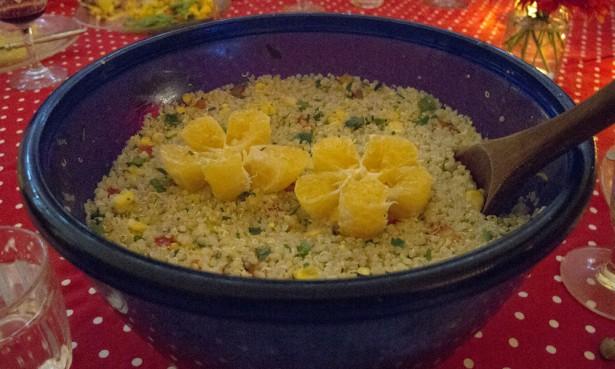 Salad at Jueves a la Mesa, vegetarian puerta cerrada