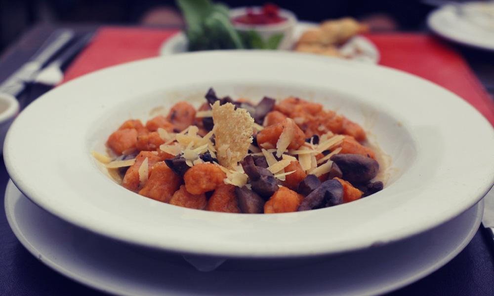 Baraka gnocci, best vegetarian restaurants in Buenos Aires