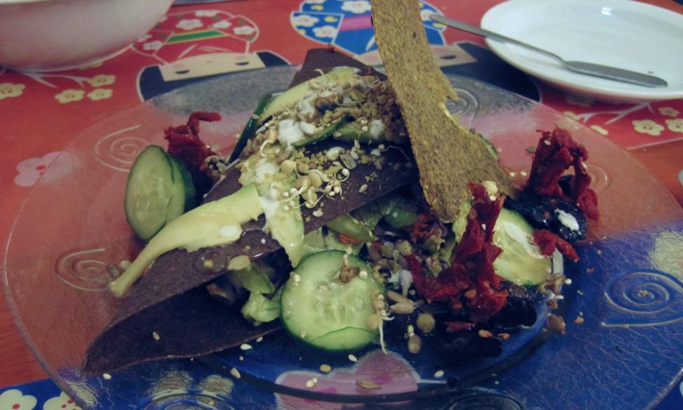 Best vegetarian restaurants in Buenos Aires |Pancake at Buenos Aires Verde