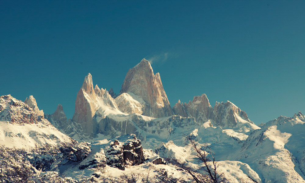 Fitz Roy mountain, near El Chalten