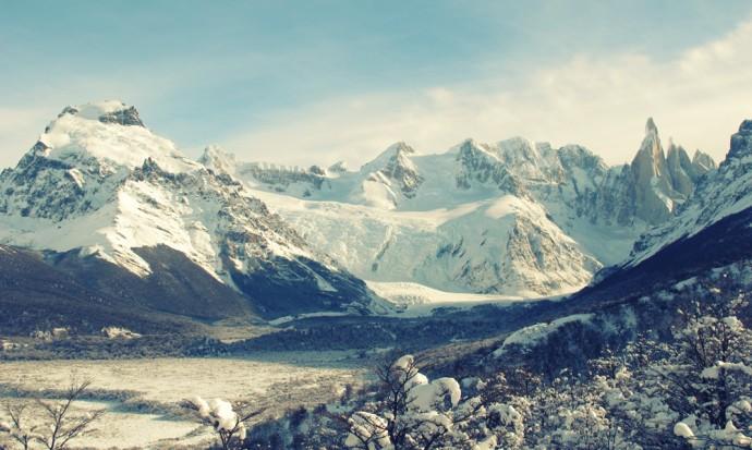 Lago Torre and glacier