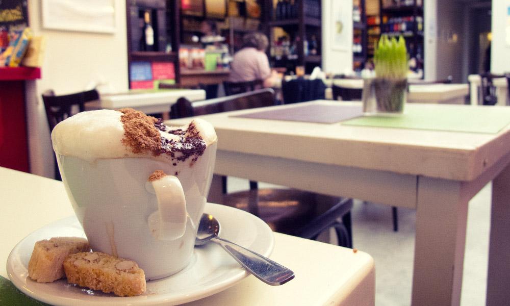 Natural Deli cappuchino El café en Buenos Aires
