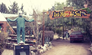 Alien shop in Capilla del Monte