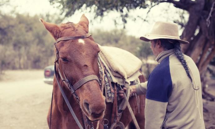 Sergio, horseriding guide from El Arbol, in Capilla del Monte