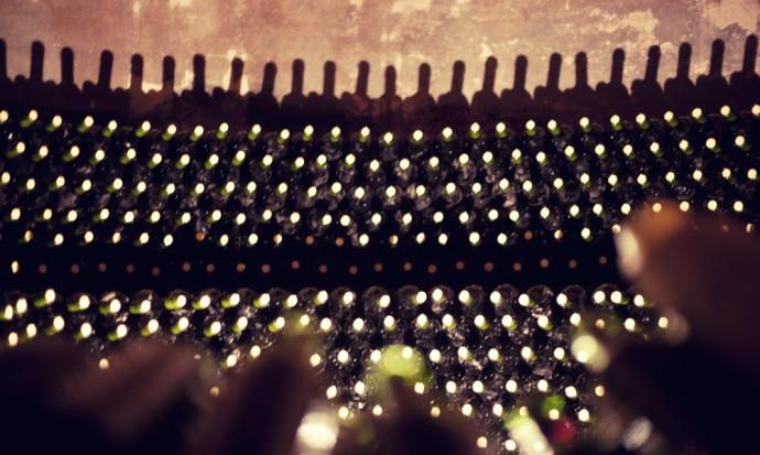 Wine storage at Tomasso winery