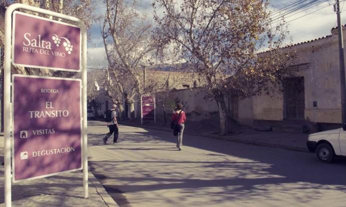On the Ruta del Vino in Cafayate, Salta