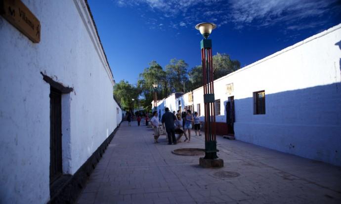 Blue sky of San Pedro de Atacama