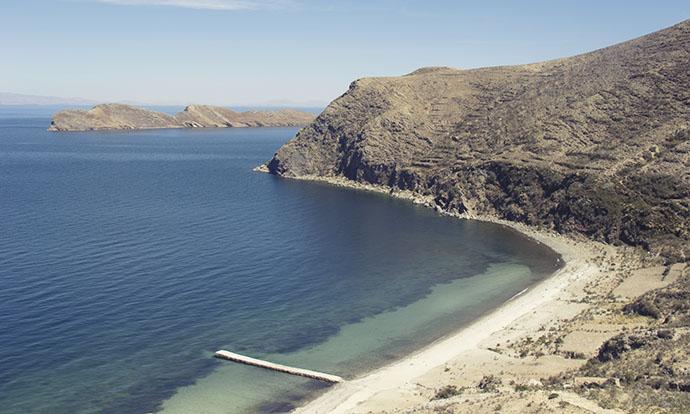 Isla del Sol beach
