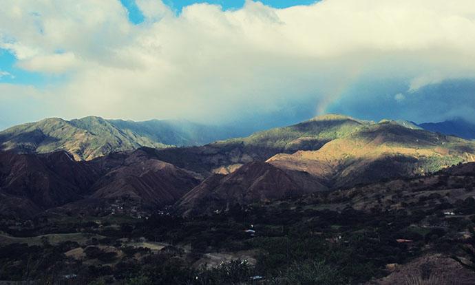 View from Izhcayluma