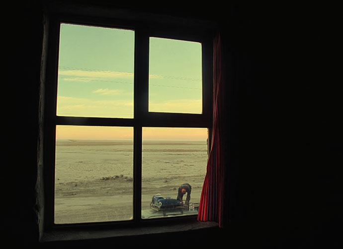 View from salt hostel