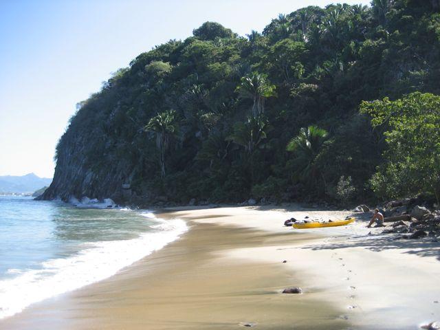 Beach at Tailwind Jungle Lodge