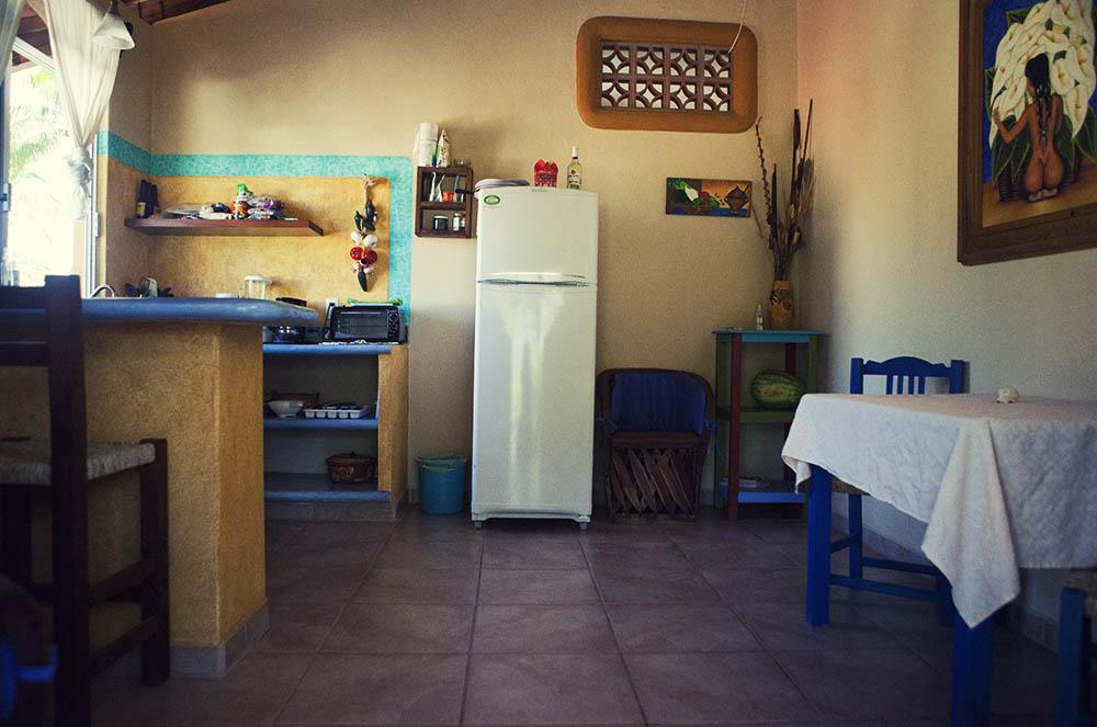 Kitchen apartment San pancho Mexico