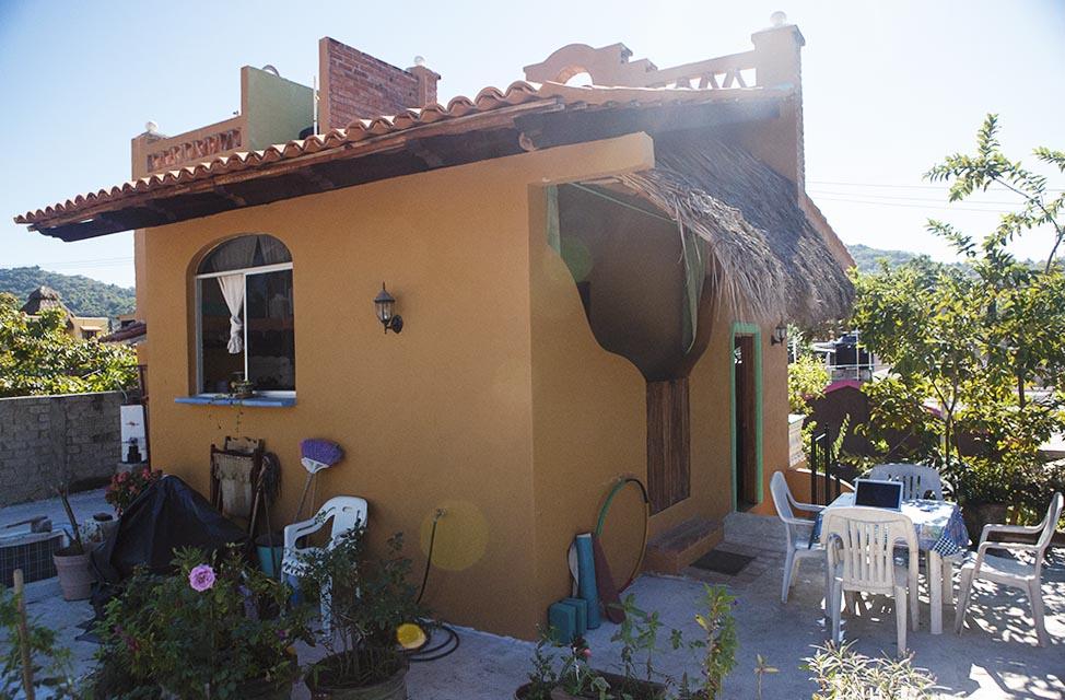 Our house San Pancho Mexico