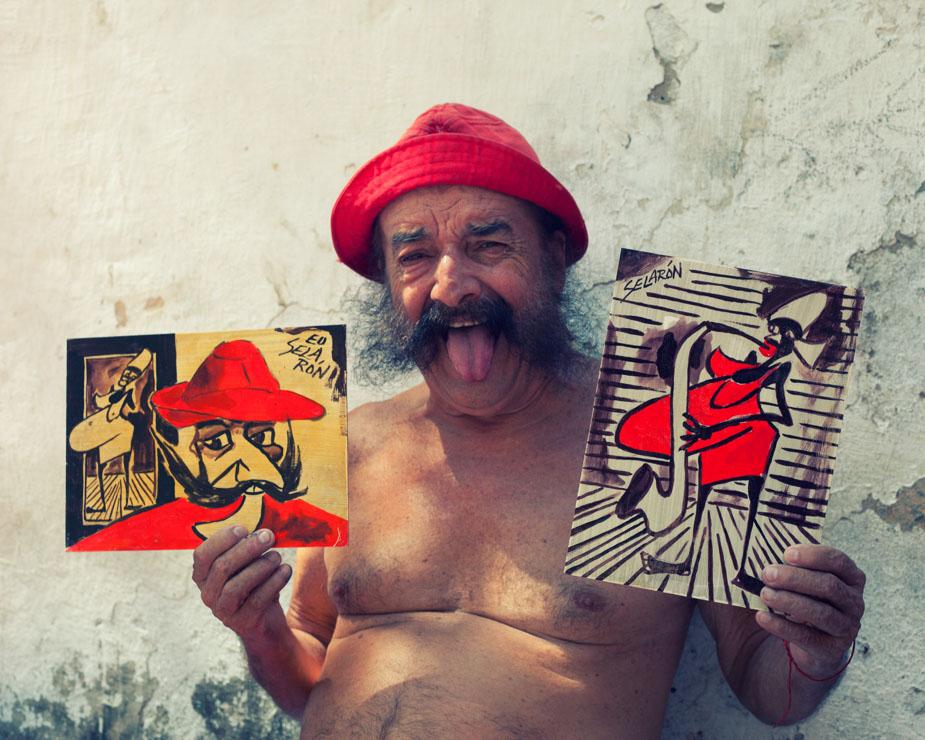 Selaron interview, 2012, Brazil
