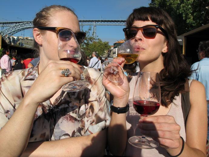 Winos in Porto