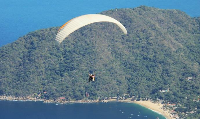 Paragliding Yelapa Casa Isabel