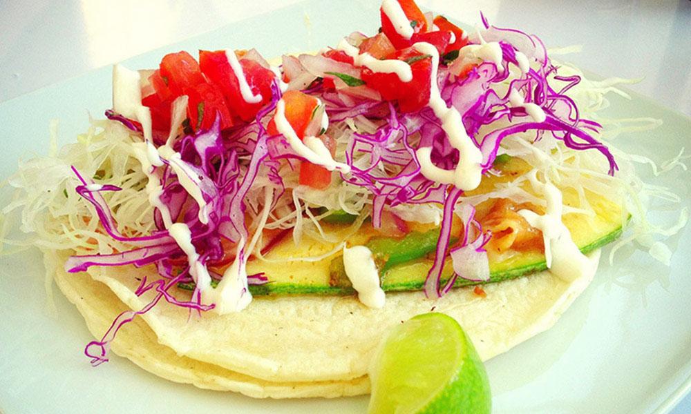 Baja Takeria veggie taco