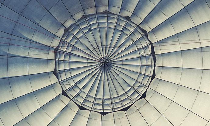 Balloon mandala