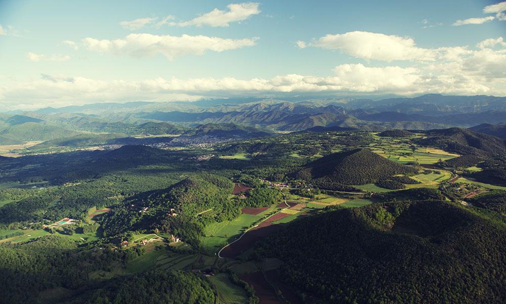 La Garratoxa landscape