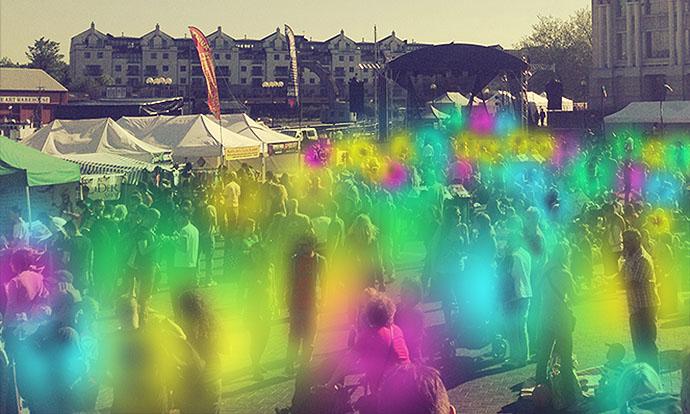 Crowd of auras