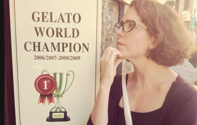 Choosing award winning gelato