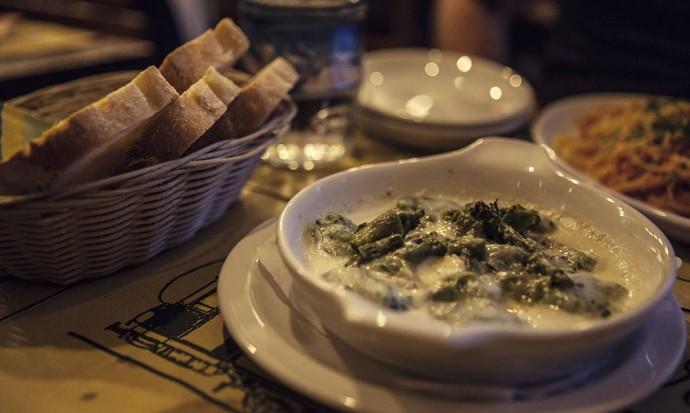Food at Al Tranvai in Florence