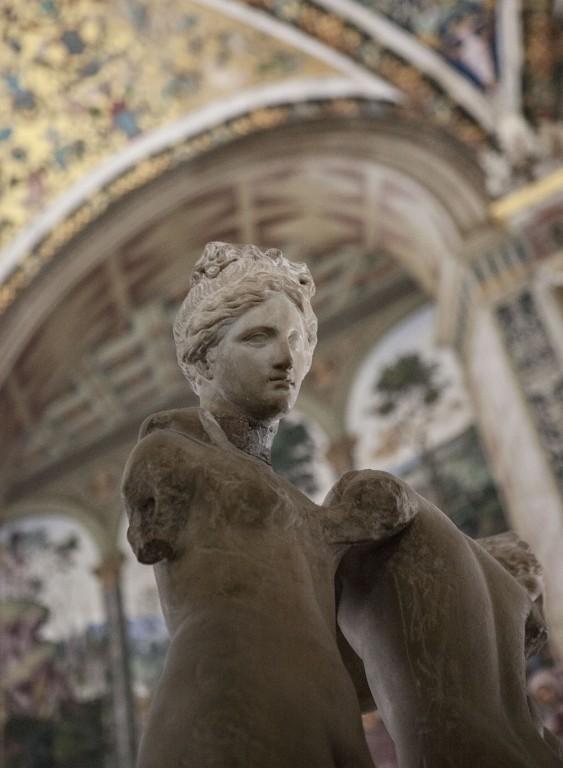 Statue in Siena