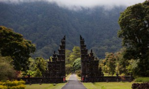 Road trippin' to peace in untouched Bali