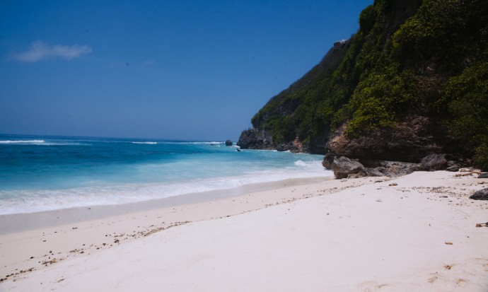Finns Beach Club beach Bali
