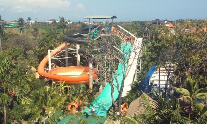 Boomerang at Bali water park