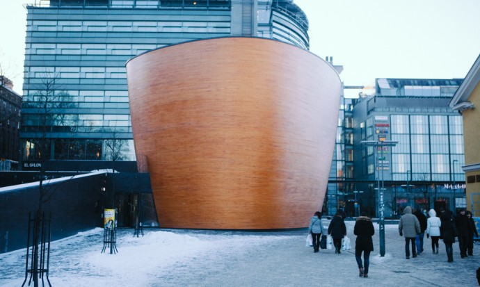 Chapel of silence Helsinki