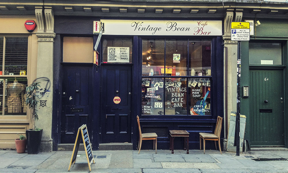 Coffee shop London
