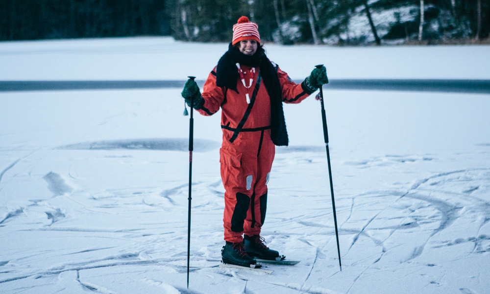 Victoria on thin ice in Finland