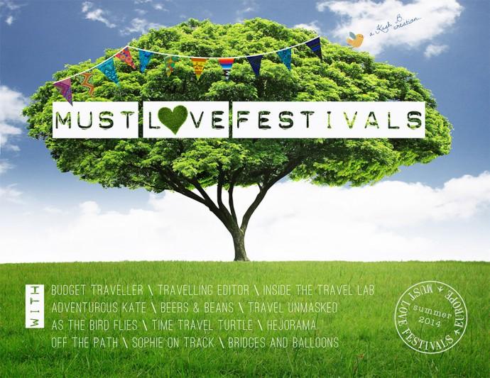 Must Love Festivals flyer