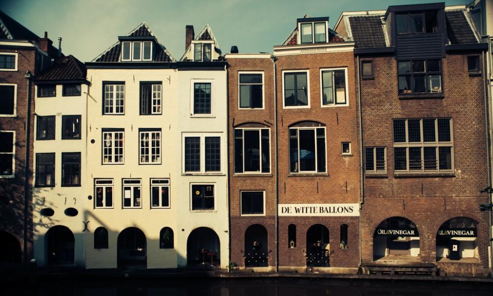 Utrecht canal side