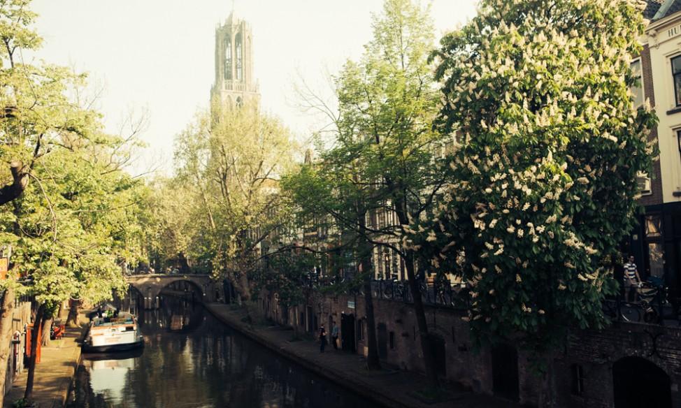 Utrecht canal view