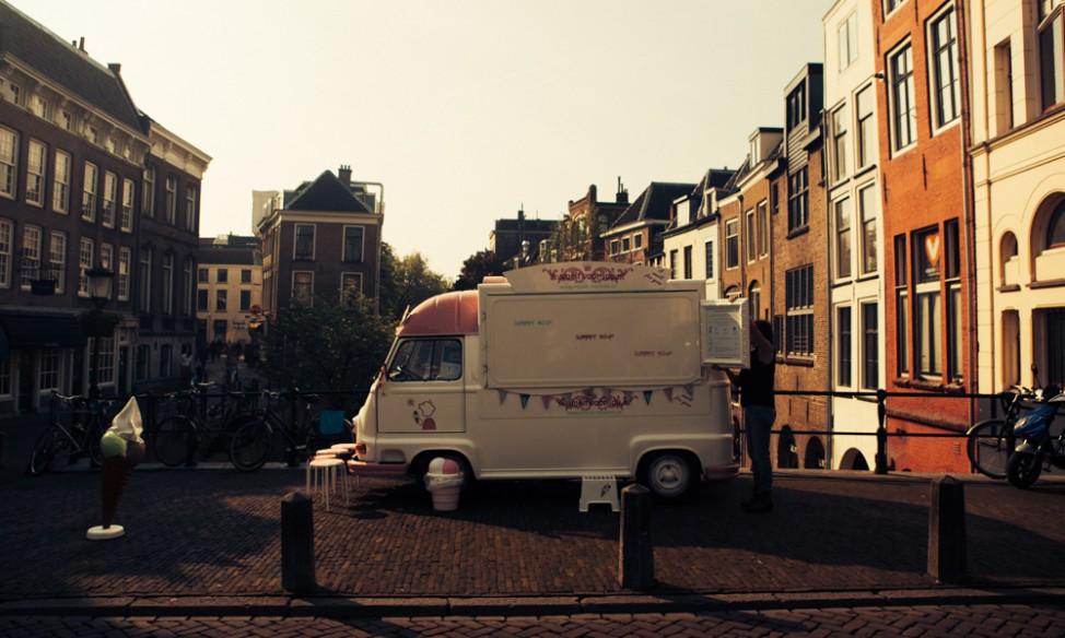 van in Utrecht