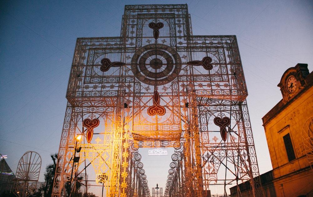 Notte delle Luci cross structure
