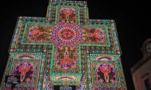 Notte delle Luci cross of lights