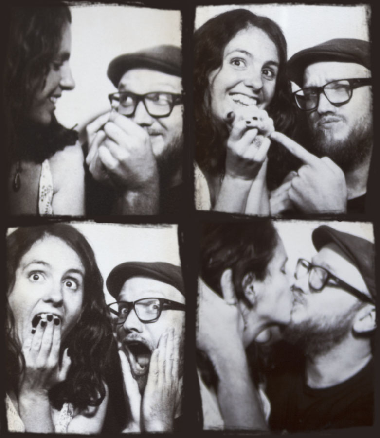 Victoria and Steve photo booth