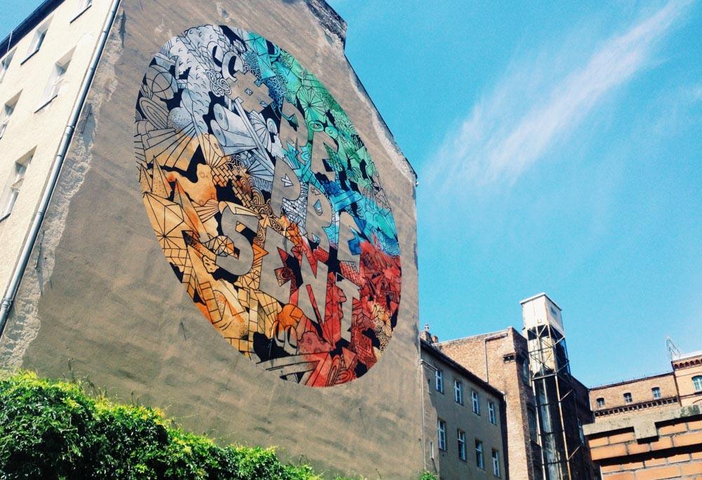 Respect street art Berlin