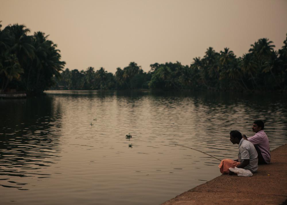 Village life in Kerala backwaters