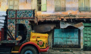 Colourful streets, Cochin