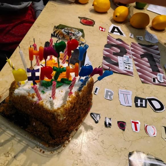 Birthday cake, New York
