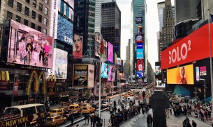 Living fiction: impressions of New York