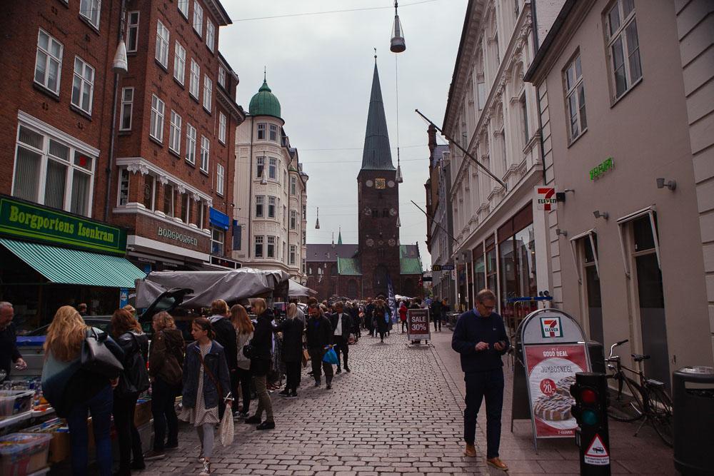 Market in Aarhus