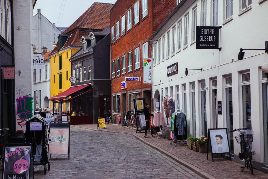 Shopping street, Aarhus