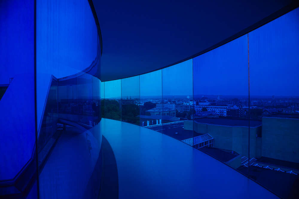 Your rainbow panorama Aarhus-blue